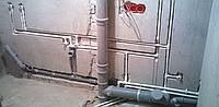 Разводка водопровода, канализации