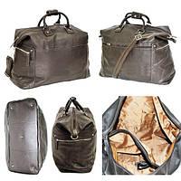 Дорожная кожаная сумка  , фото 1
