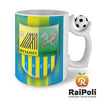 Футбольная чашка с вашим изображением, фото 1