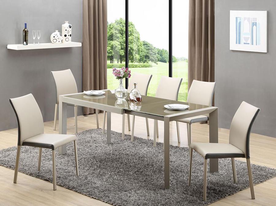 Стол обеденный стеклянный ARABIS Halmar
