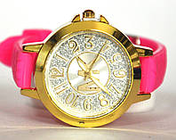 Часы на резиновом ремешке 00423
