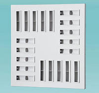 Вихревые квадратные диффузоры ДВП 4 445, Вентс, Украина