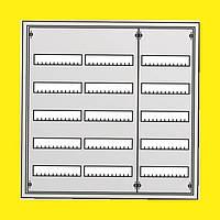 Распределительный встраиваемый металлический шкаф ABB U53 180M IP31 810х834х120 5 рядов