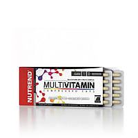 Комплекс витаминов MultiVitamin compressed caps (60 капс.) Nutrend