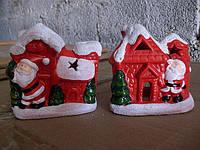 Cувенир, подсвечник, 10х9х5,5 см, Рождество, Новогодние сувениры, Днепропетровск , фото 1