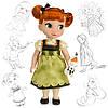 Кукла принцесса Анна Дисней Холодное сердце Аниматоры Disney Animators Anna