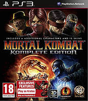 Игра Mortal Kombat Komplete Edition (PS3) БУ
