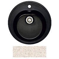 Кухонная мойка мрамор композит Fosto D510 SGA-800