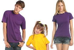 Однотонные футболки для печати (коттон, х/б)