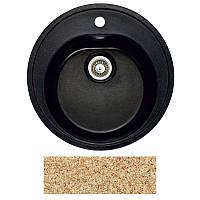 Кухонная мойка мрамор композит Fosto D510 SGA-806