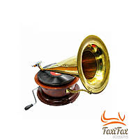 Антикварный индийский граммофон