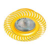 Точечный встраиваемый светильник Feron GS-M392 MR16 золото