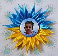 Значки для выпускников с розеткой Украина