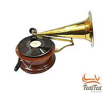 Ретро граммофон антикварный