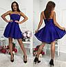 Шикарное платье с полосками сеточки, фото 4