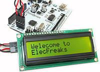 ЖК LCD 1602 16х2 модуль дисплей Arduino - зеленый, фото 1