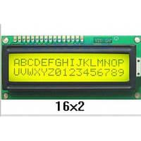 ЖК LCD 1602 16х2 модуль дисплей Arduino, фото 1