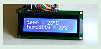 ЖК LCD 1602 16х2 модуль дисплей Arduino - синий, фото 1