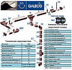 Водосточная система Galeco ПВХ (Галеко), фото 3