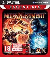 Игра Mortal Kombat (PS3) Essentials