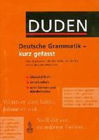 Duden, Deutsche Rechtschr - kurz gefasst