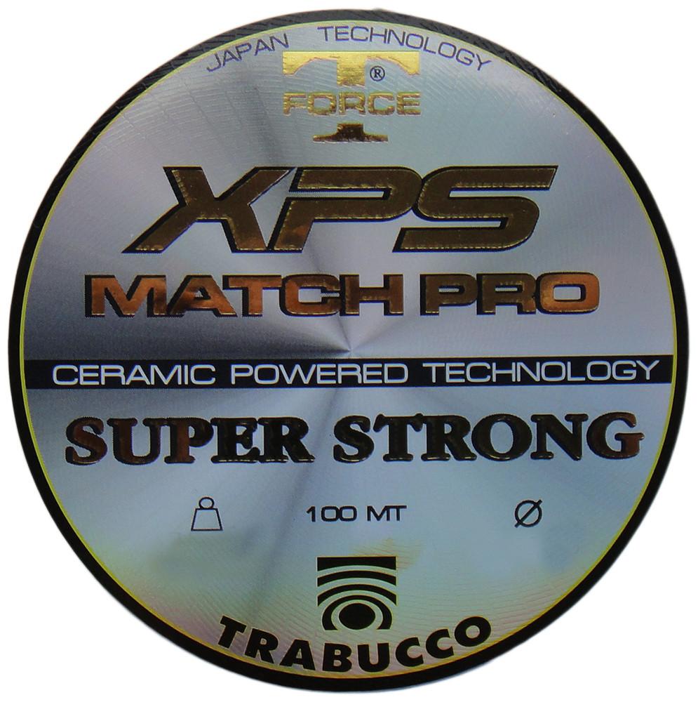 Леска T-Force XPS Match Pro 100mt. 0.25mm Trabucco