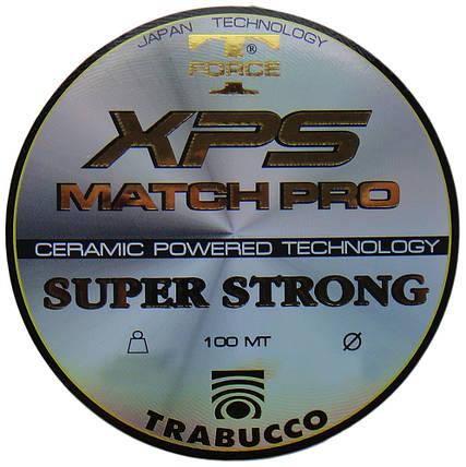 Леска T-Force XPS Match Pro 100mt. 0.25mm Trabucco, фото 2