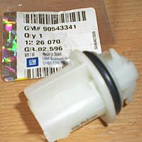 Патрон (гнездо, цоколь , держатель , крепление) лампочки поворотов в передней фаре OPEL VECTRA-B ZAFIRA-A (VALEO 67742445) General Motors 90543341