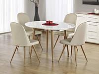 Стол обеденный деревянный EDWARD белый Halmar