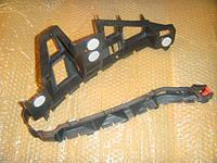 Направляющая (кронштейн , крепление , рейка, опора) заднего бампера левый крайний (чёрный пластиковый) GM 1406214 1400327 93357712 24460523 OPEL