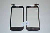 Оригинальный тачскрин / сенсор (сенсорное стекло) для Lenovo A760 (черный цвет) + СКОТЧ В ПОДАРОК