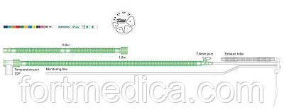 NFlow дыхательный контур для СРАР-терапии с проводом нагрева для грудных детей Intersurgical