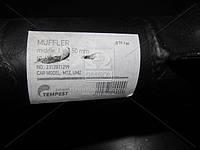Глушитель МТЗ, ЮМЗ средний черн. (L=1150 мм) (TEMPEST). 60-1205015-АС