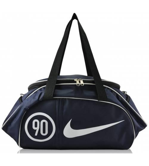 Спортивная сумка Nike Sekskant синий с белым
