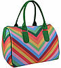 Женская сумка саквояж Valentino зеленая, фото 2