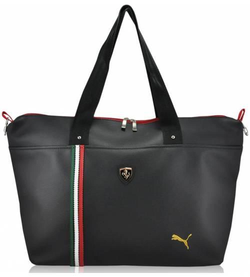 Спортивная сумка Puma Ferrari Metall черная реплика