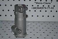 Соединитель штанги (хомут) d-28mm. для бензокос, электротриммеров, мотокосы, электрокос