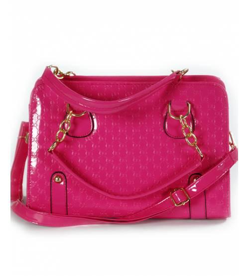 Женская сумка 7225-12 малиновая