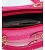 Женская сумка 7225-12 малиновая, фото 5