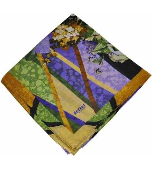 Женский платок 16426 фиолетовый