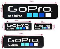 Наклейки стикеры GOPRO (black)