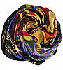Женский платок 21120 ковка оранжевый, фото 2