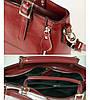 Женская кожаная сумка 7316-01 красная, фото 2