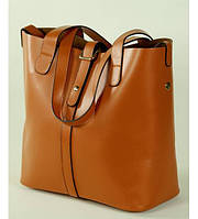 Женская кожаная сумка 7310-03 рыжая