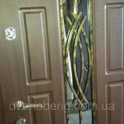 Входная дверь модель Т-1-3 124 vinorit-80 КОВКА , фото 2