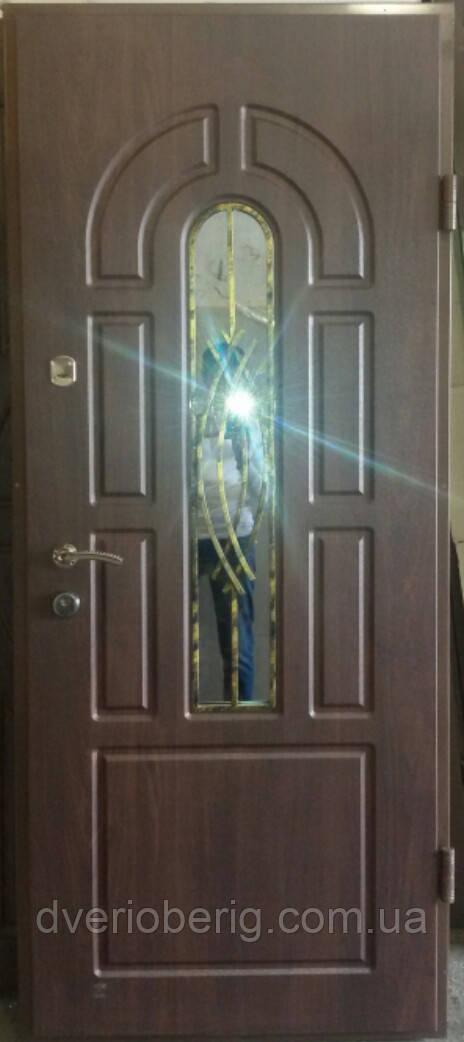 Входная дверь модель Т-1-3 124 vinorit-80 КОВКА