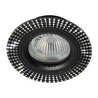 Точечный встраиваемый светильник Feron GS-M369 MR16 чёрный