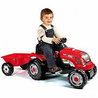 Детский трактор с прицепом GM Bull Smoby 33045