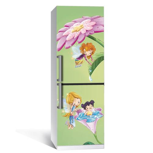 Наклейка на холодильник Сказка (пленка самоклеющаяся фотопечать)