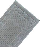 Набор ковриков для ванной и туалета  Arya  Erguvan серый